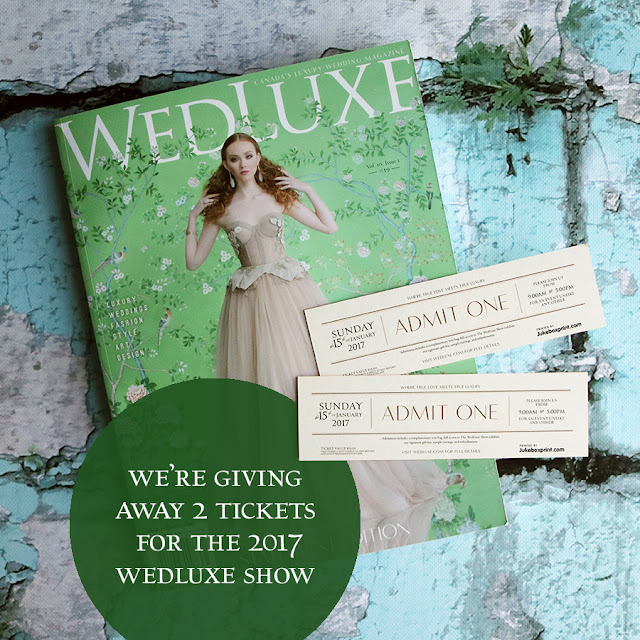 Win tickets to the 2017 WedLuxe Show