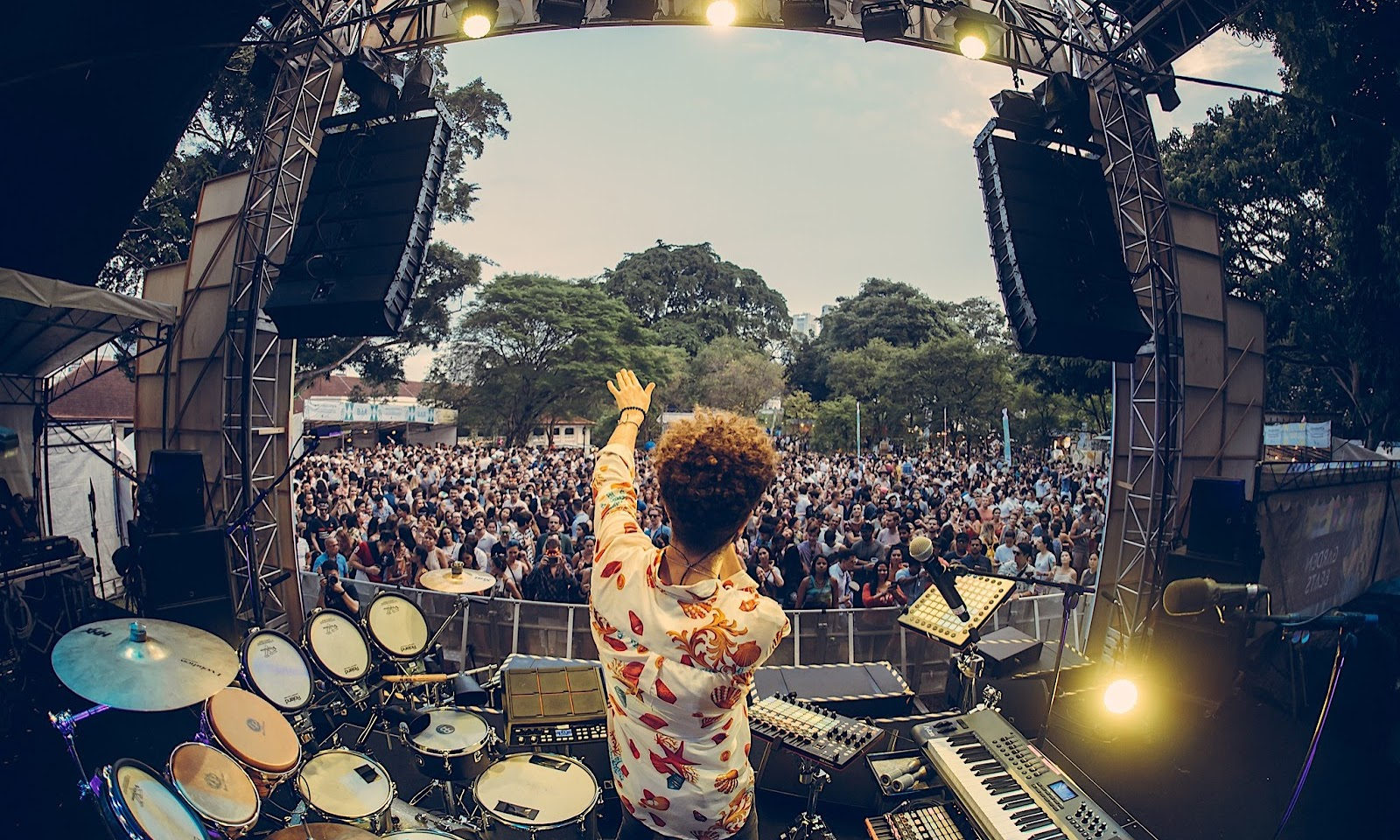 Groove to the Garden Beat on 9 March at Fort Canning Park!