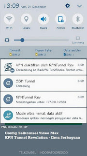 Config KPN Tunnel Revolution Telkomsel VideoMax