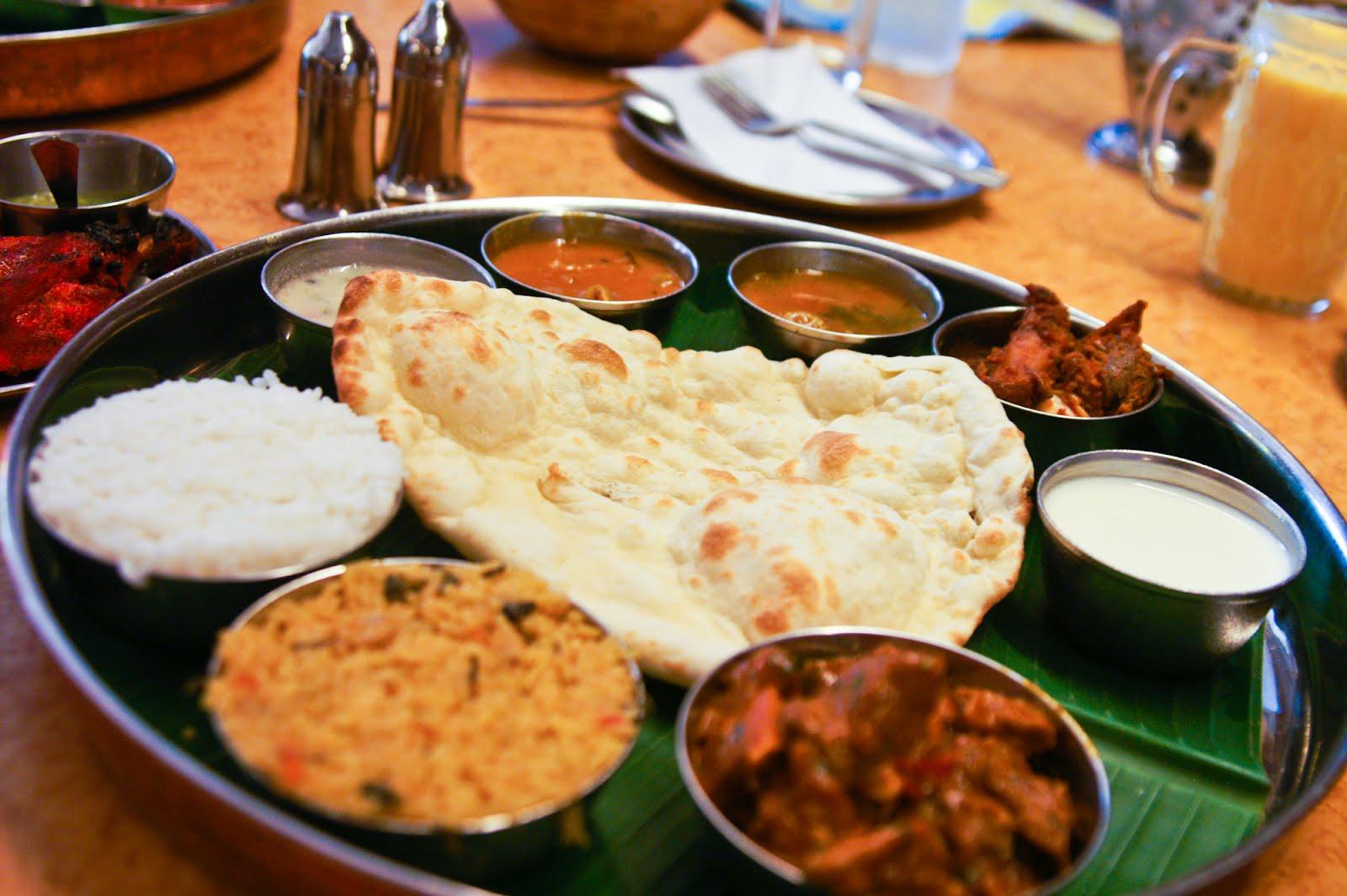 Indian Food Platter
