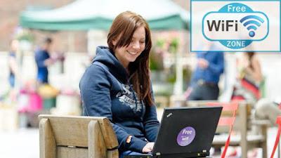 सार्वजनिक Wi-Fi का इस्तेमाल