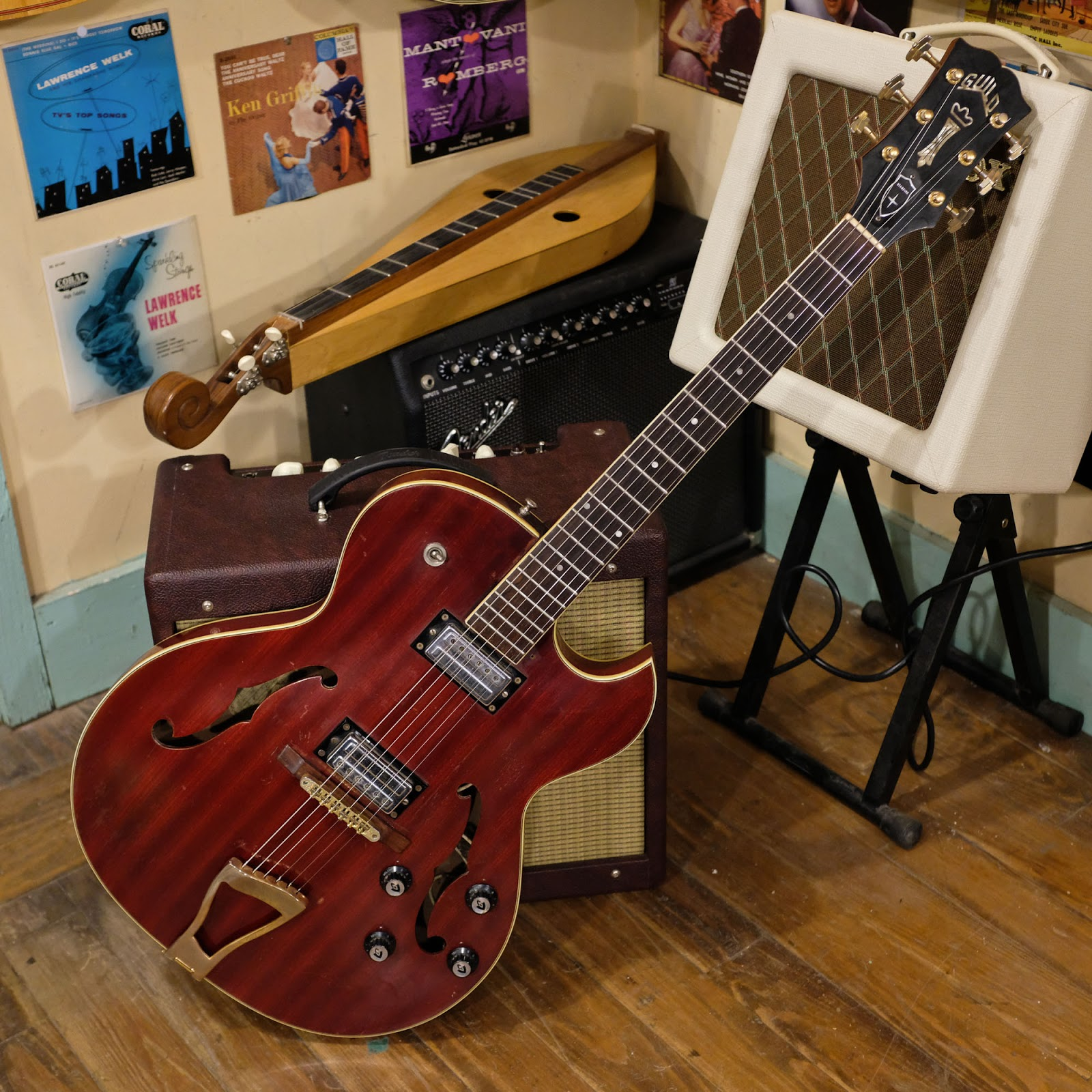 1964 guild starfire iii hollowbody electric guitar. Black Bedroom Furniture Sets. Home Design Ideas