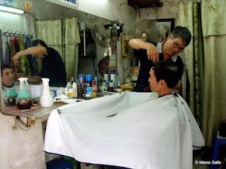 PELUQUEROS DE HANOI, VIETNAM