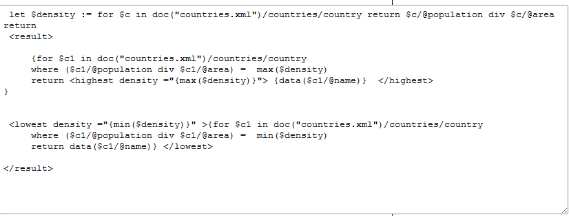 XML World-Countries XPath and XQuery Exercises | First Thoughts