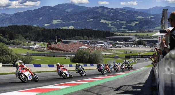 Jadwal MotoGP Austria 2018 - Sirkuit Red Bull Ring, Spielberg