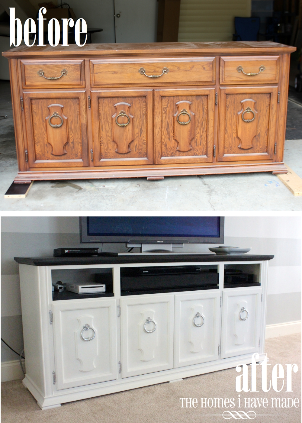 Dresser Makeover Living Room Update  The Homes I Have Made