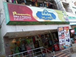 Pasuparthy Silks & Fashions Tirupati