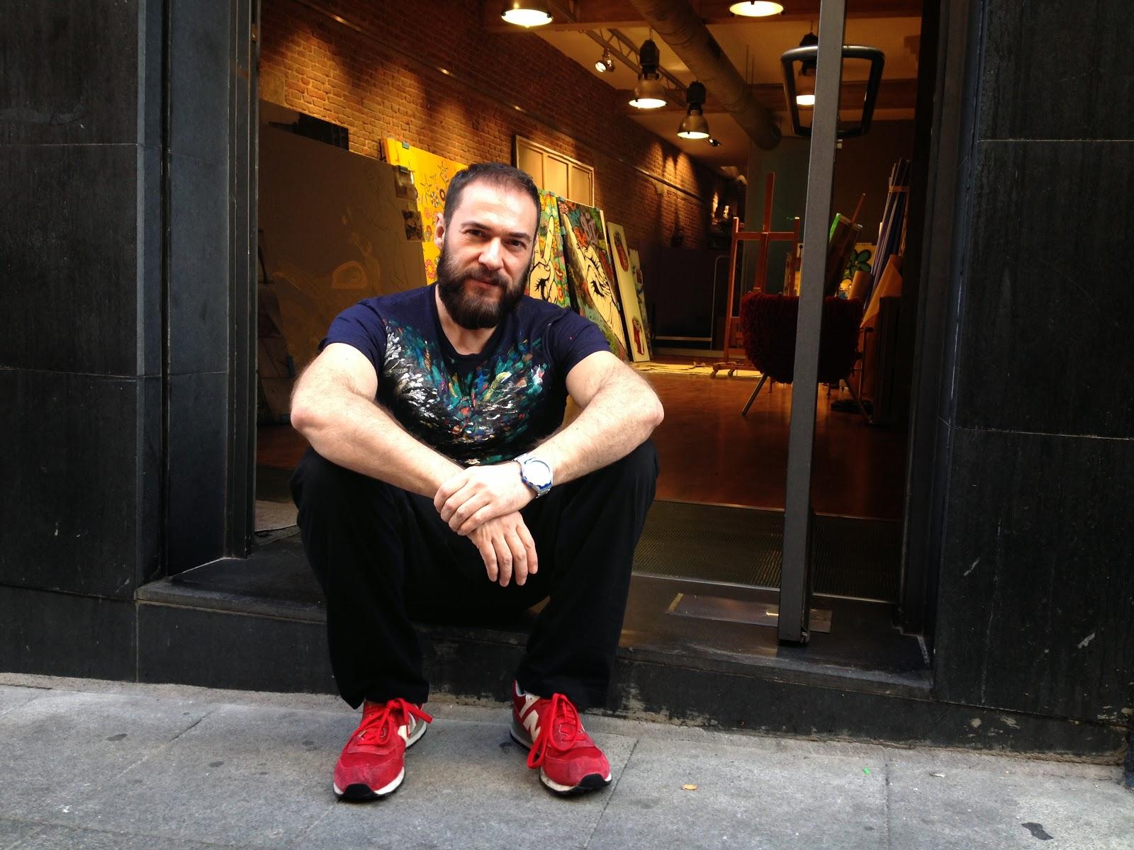 Antonio de Felipe - GraffitiPop - Entrevista / artículo de Álvaro García - alvarogp - el troblogdita - Foto: Álvaro García