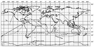 Pengertian Proyeksi Peta dan Penjelasan Mengenai Proyeksi Peta Terlengkap