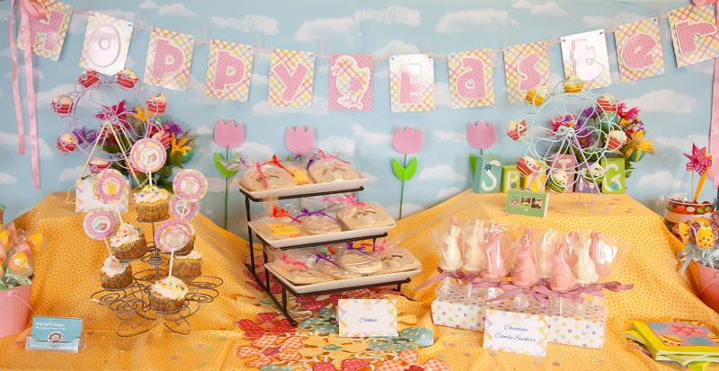 Spring Themed Dessert Bar Michelles Party Plan It