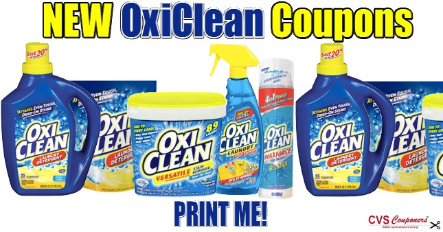 OxiClean Coupons | Save up to $4.50 off