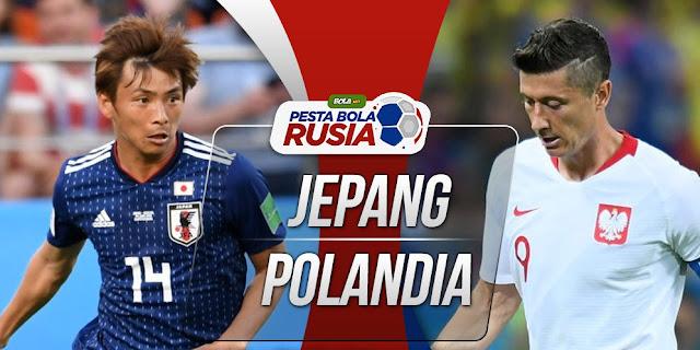 Jepang vs Polandia