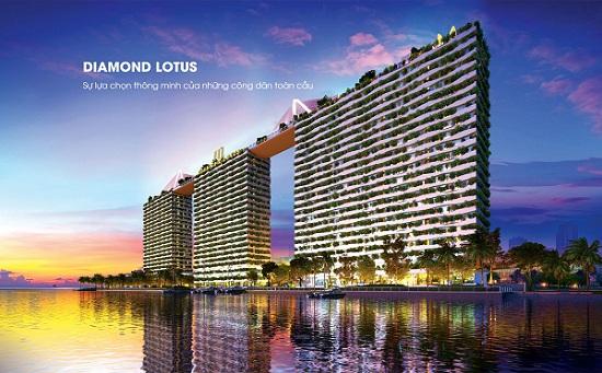 Căn hộ Diamond Lotus Riverside mở bán block C giá chỉ từ 1,9 tỷ/căn