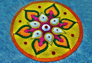 Pookalam Designs Simple