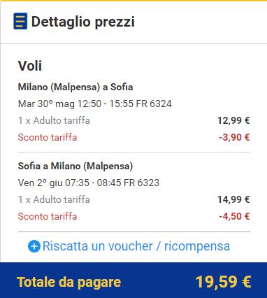 Viaggiatoridigitali Voli Per La Bulgaria Da 9 A Tratta Solo Oggi