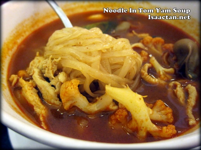 Secret Recipe noodle in tom yum soup