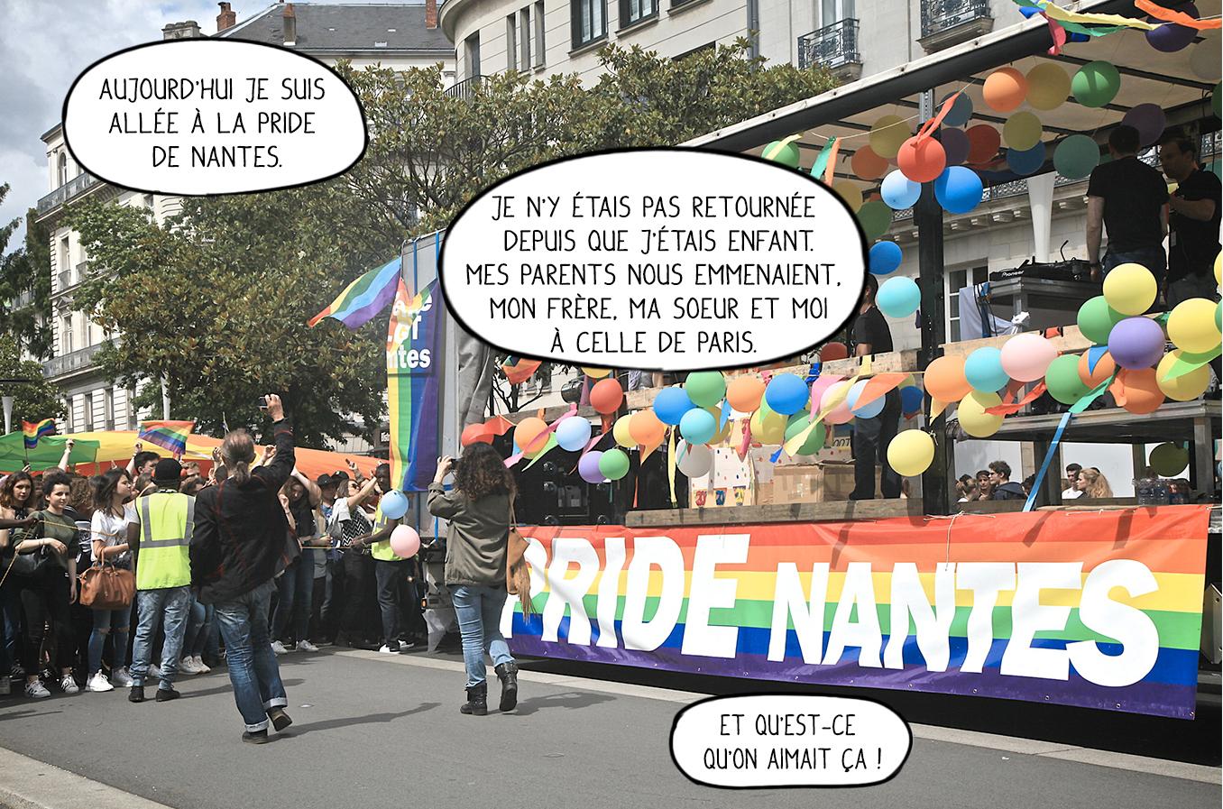Turbo Bande de Déchets: Pride de Nantes 2016 LE65
