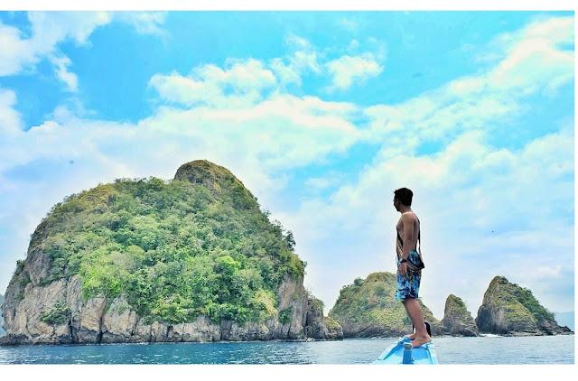 keindahan di pulau wayang pesawaran