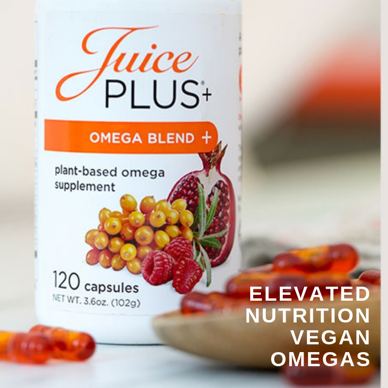 Elevated Nutrition Plant Based Omegas I Sylvania OH