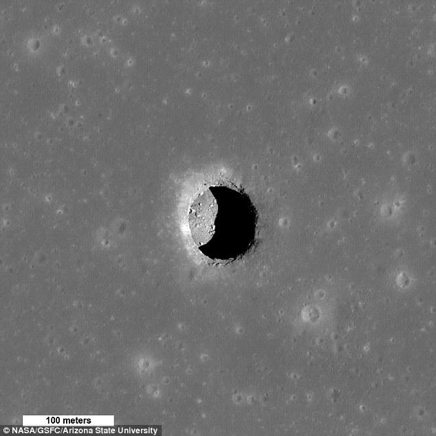 Moon Lava Tube