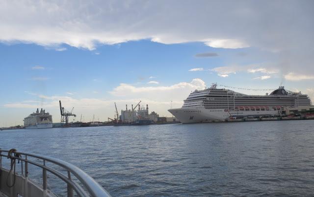 Kreuzfahrthafen Port Everglades Cruise Port von Fort Lauderdale