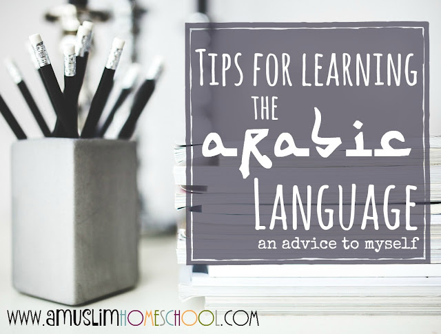 Arabic language learning tips