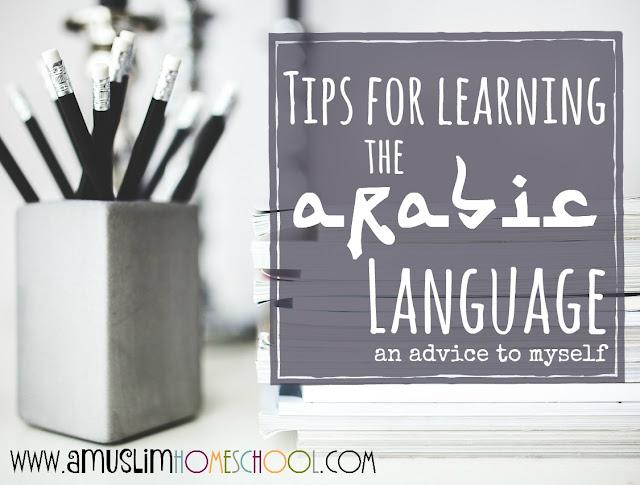 Arabic language learning tips