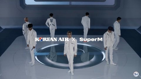 [PANN] SuperM, Korean Air ile reklam çekti