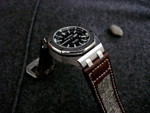 Audemars Piguet Diver on Swiss Army Canvas and leather