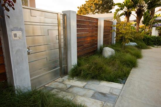 gambar pintu pagar rumah minimalis