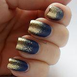 Gold dipped nails
