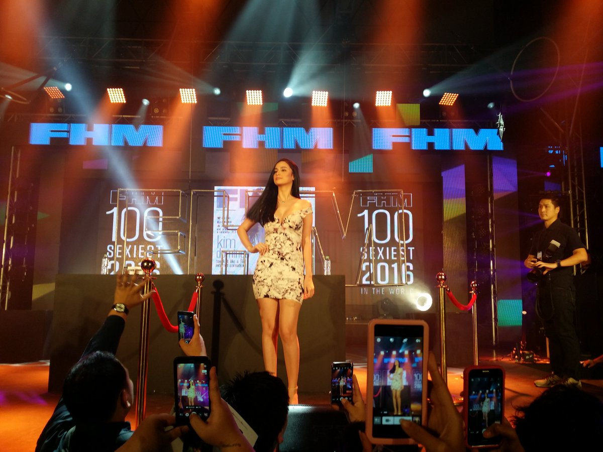 Kim Domingo FHM 100 Sexiest 2016