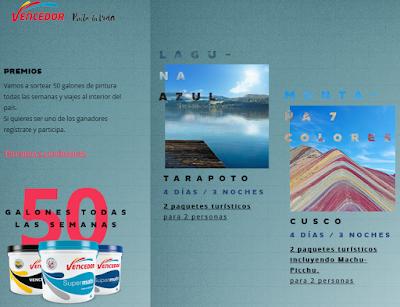 [Sorteo] Participa y gana paquetes turísticos a Tarapoto y Cusco - Apellidos Vencedor