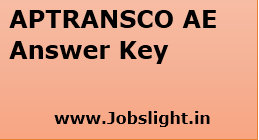 APTRANSCO AE Answer Key 2017