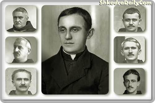 Aleksander Sirdani, Marin Sirdani, Gjergj Fishta, Vincenc Prennushi, Anton Harapi, Justin Rrota, Bernadin Palaj