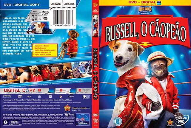 Capa DVD Russel O Cãopeão