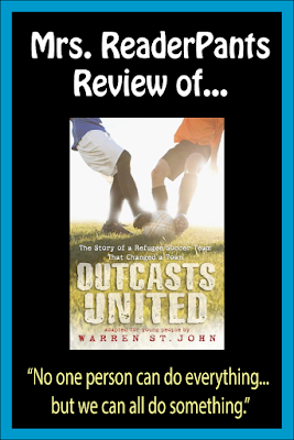 Outcasts United introduces teen readers to the plight of refugees seeking asylum in the USA. Great for helping to develop empathy.