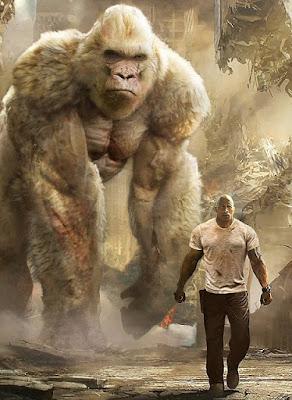 IMDB بالعربي دواين جونسون في فيلم ثورة imdb rampage