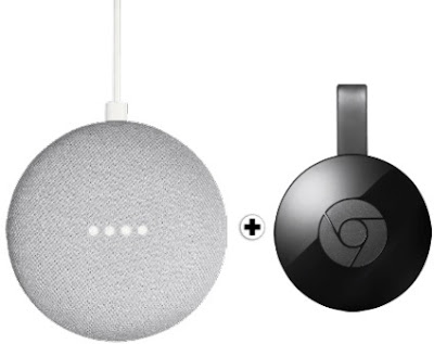 Google Home Mini + Chromecast 2