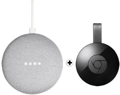 Google Home Mini + Chromecast 2