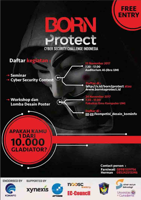Born Protect Cyber Security Challenge Indonesia