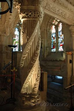 """The """"Apprentice Pillar"""" (Rosslyn Chapel)"""