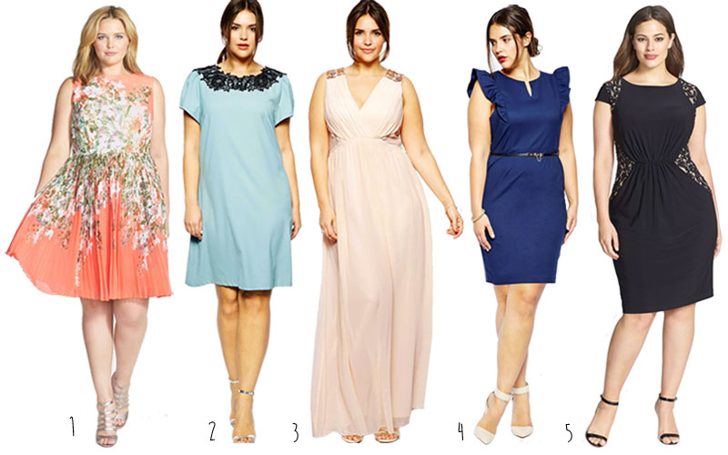 Little hint plus size guest dress wedding ceremony trend for Plus size dress for wedding guest