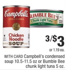 Campbell's cvs deal
