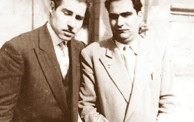Los ajedrecistas Jaume Ballbé y Luis Méndez