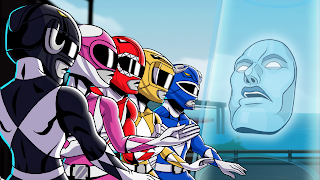 Mighty Morphin Power Rangers Mega Battle PS Vita Wallpaper