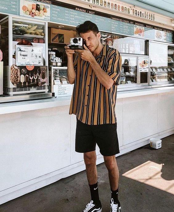Listrado Vertical Masculino é Tendência Masculina para o Verão 2019!