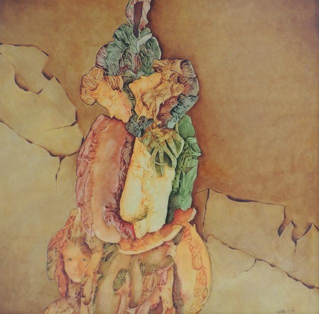 Pintura surrealista de Maruja Valdés Solis