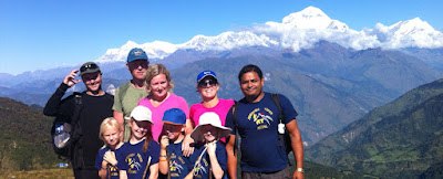 easy trekking in Nepal
