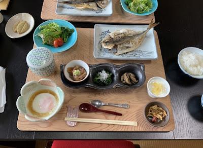 桜田温泉 朝食